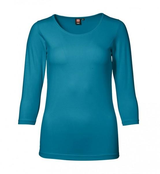 Damen Stretch T-Shirt 3/4 Arm