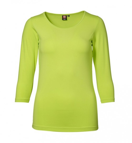 Damen Stretch T-Shirt 3/4 Arm
