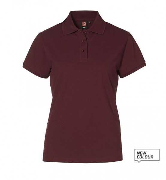 Damen Piqué Poloshirt Stretch